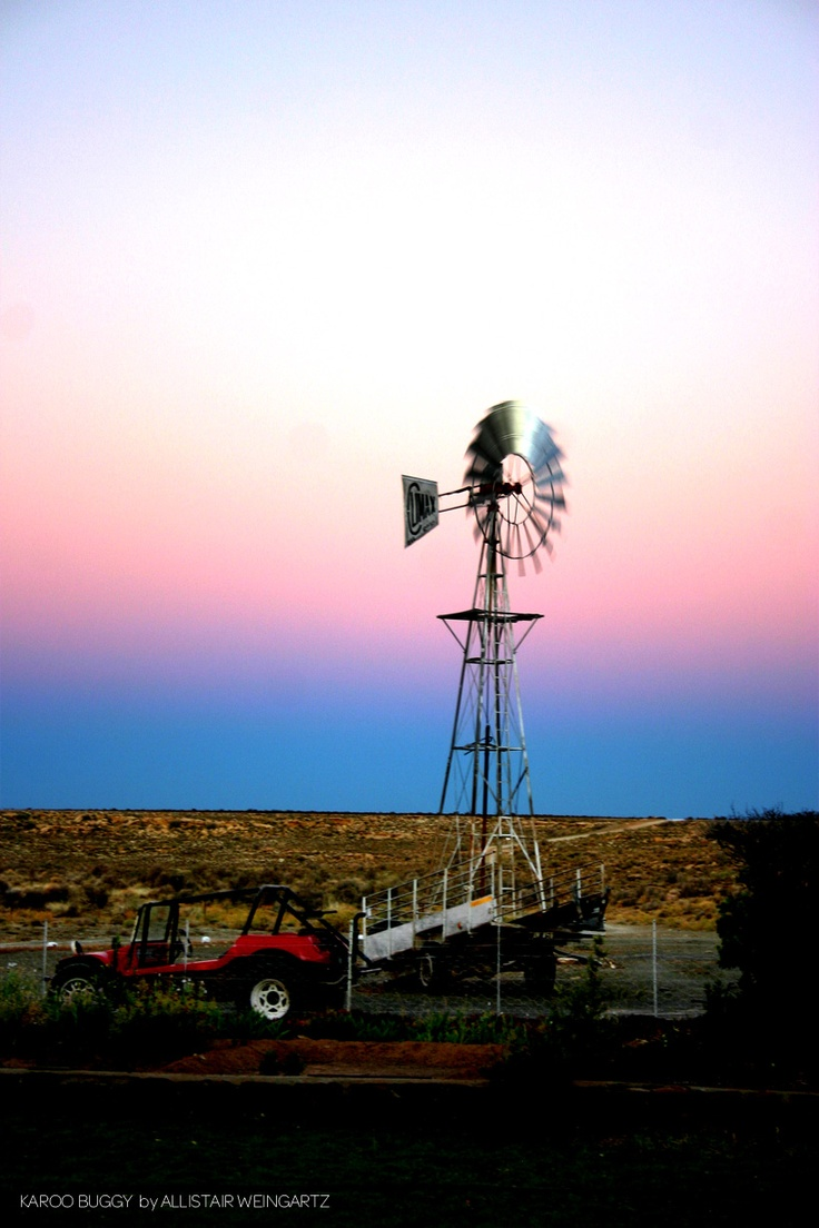 Dusk in the Karoo