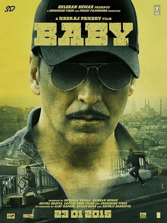 First Look Poster Of 2015 Hindi Movie Baby- Akshay Kumar .