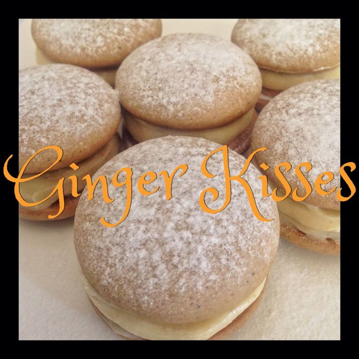 Ginger Kisses (Thermomix Method Included)