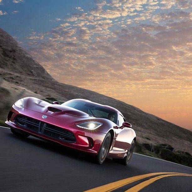 Gorgeous shot of a Dodge Viper SRT.