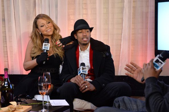 "Mariah Carey Photos - Singer Mariah Carey and Nick Cannon attend MTV First: Mariah Carey's ""You're Mine (Eternal)"" music video world premiere at MTV Studios on February 12, 2014 in New York City. - MTV First: Mariah Carey's ""You're Mine (Eternal)"""