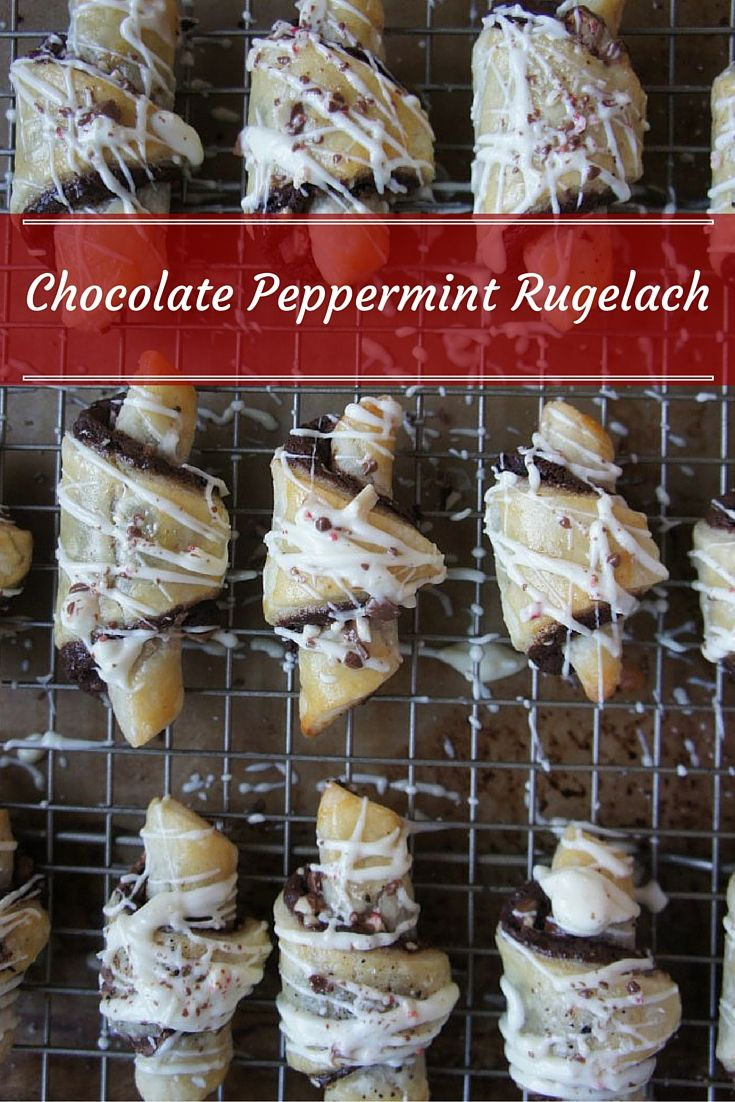 58 best jewish food images on pinterest jewish recipes desserts easy chocolate peppermint rugelach the perfect cookies to bring a jewish twist to your next forumfinder Gallery