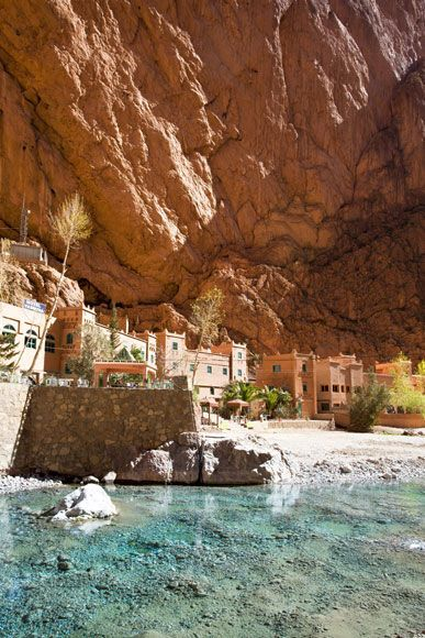 Todra Gorge. Atlas Mountains.Morocco