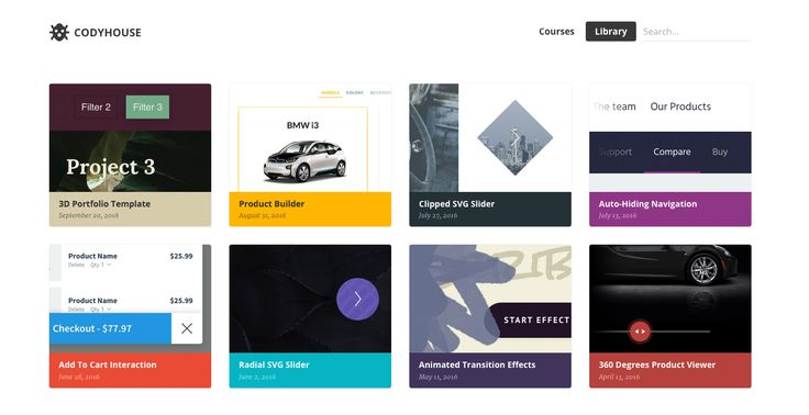 Html, Css, UX Patterns    codyhouse library  Sites - new blueprint sites css