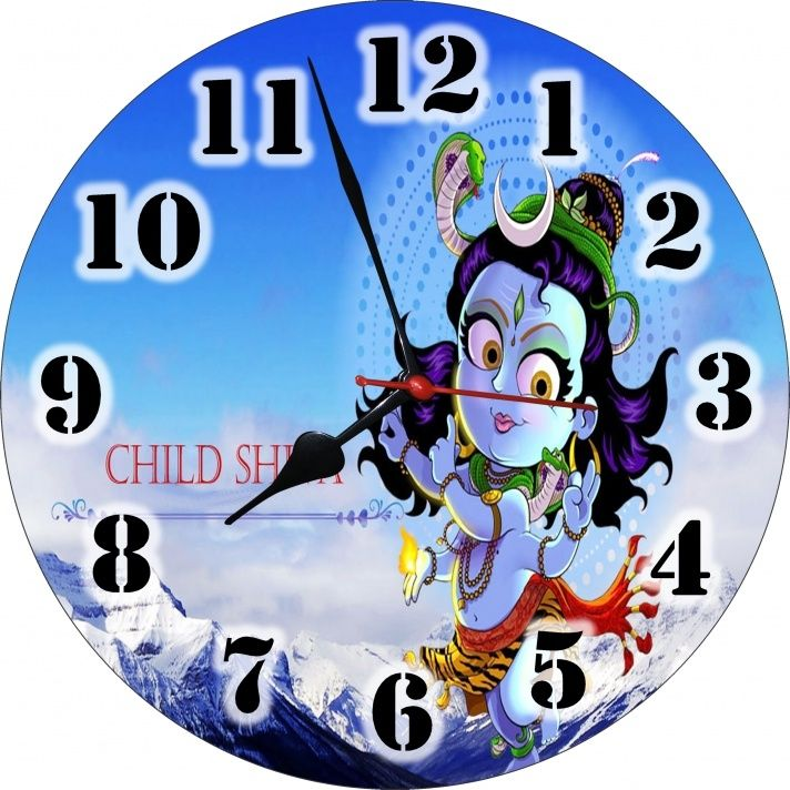 Buy 3d Little God Shiva Analog Wall Clock At Low Prices In India Only On Winsant Com Wall Clock Clock Wall Clock Nursery