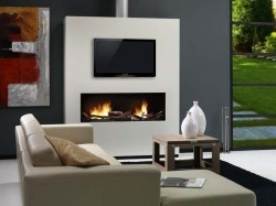 Kamin Na Bioetanol Elegance Vključno Z LCD TV | Kamini Na Bioetanol |  Pinterest | Living Room Ideas, Decoration And Room Ideas