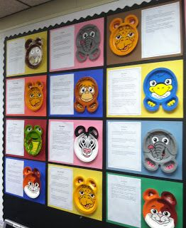 ZooPals Animal Reports-easy to begin to model how to write a non-fiction research report at the beginning of the year.