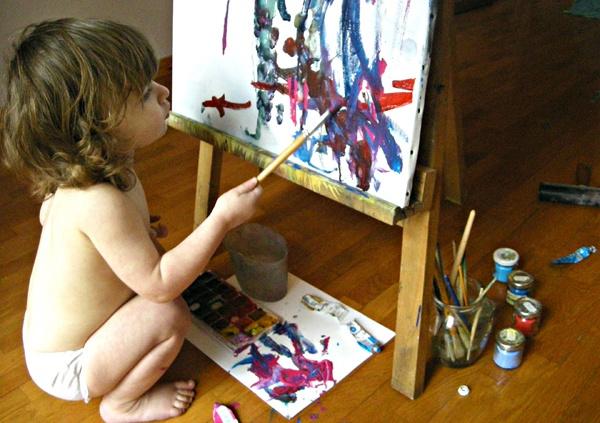 Mammabook: Attività artistiche per bambini dai due ai tre anni (guest post di Artscuola)