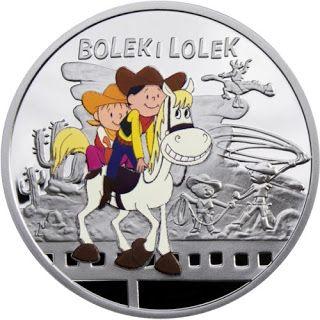 Niue 1 Dollar Silver Coin 2011 Bolek and Lolek