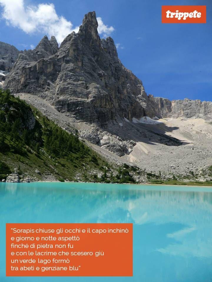 Una storia d'Amore tra Misurina e Sorapis, resa poesia dal mitico Baglioni con il coro degli Alpini… Anche questo significa valorizzare il nostro territorio!!