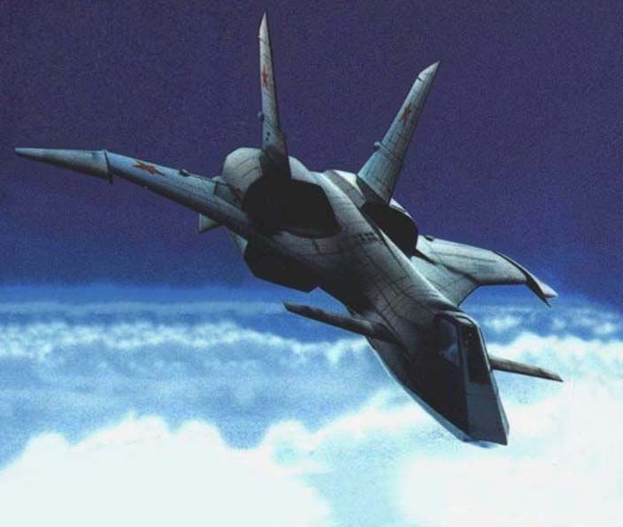 Probably the most awesome fictional aircraft ever - the MiG 31, better known by its NATO code name: Firefox.