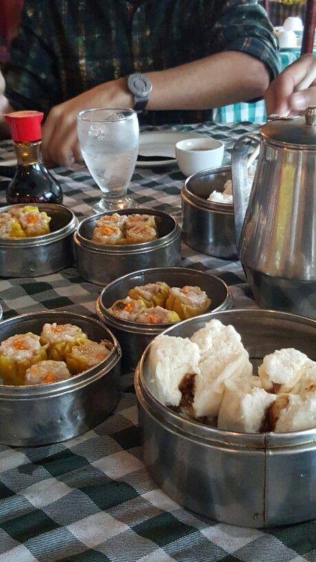 Simplemente delicioso desayunar Dim Sum en Lung Fung Panamá.  Oct 2015