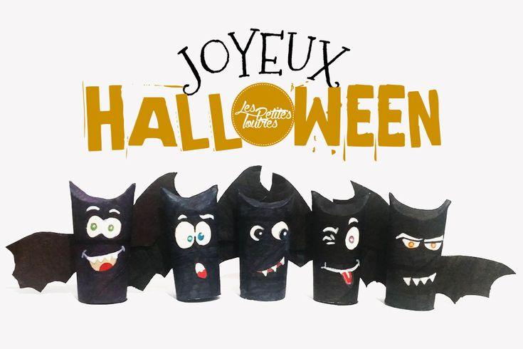 Dans un mois c'est Halloween !!! On vous propose un tuto méga simple pour réaliser des petites chauves-souris toutes mignonnes pour Halloween :) #Halloween #deco #diy