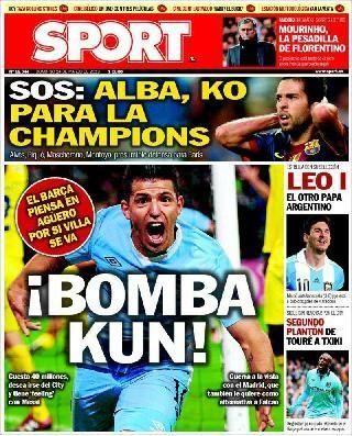 Diario Sport. Versión online del periódico deportivo. Todas las noticias del Barça y del mundo del deporte en general.