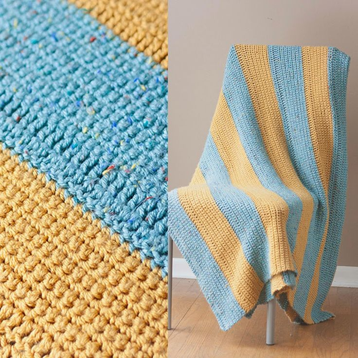 Easy Beginner Crochet Blanket Pattern | MARGO KNITS