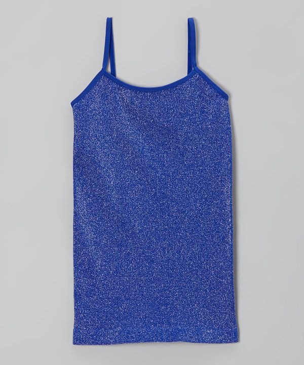 Take a look at this Malibu Sugar Cobalt Metallic Camisole on zulily today!