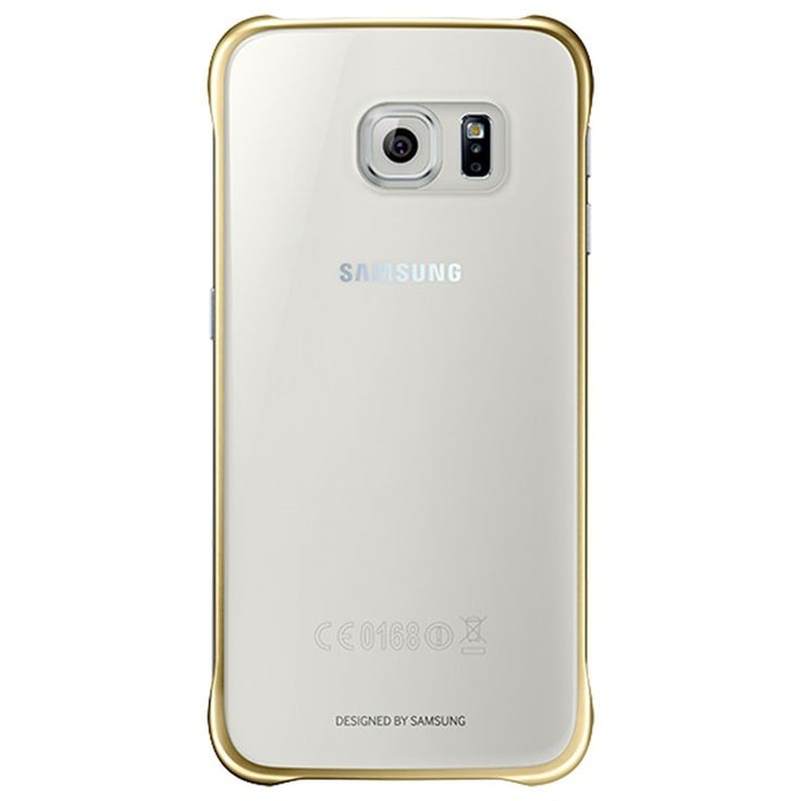 Samsung Galaxy S6 Clear Deksel EF-QG920BFEGWW - Gull