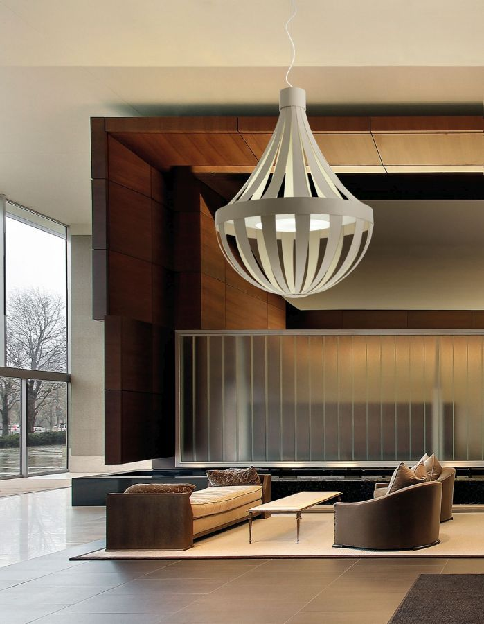 Discover all the information about the product pendant lamp contemporary fabric metal lightecture anadem axo light and find where you can buy it