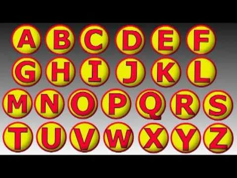 English alphabet - Sing the alphabet with me by alain le lait