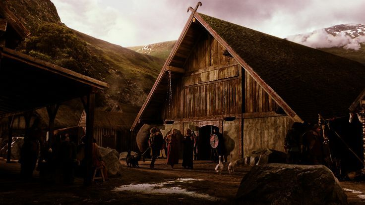 Set from Vikings, Kattegat