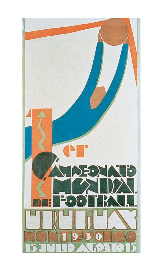 Uruguay 1930 World Cup Poster