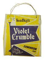 Violet Crumble showbag 1963