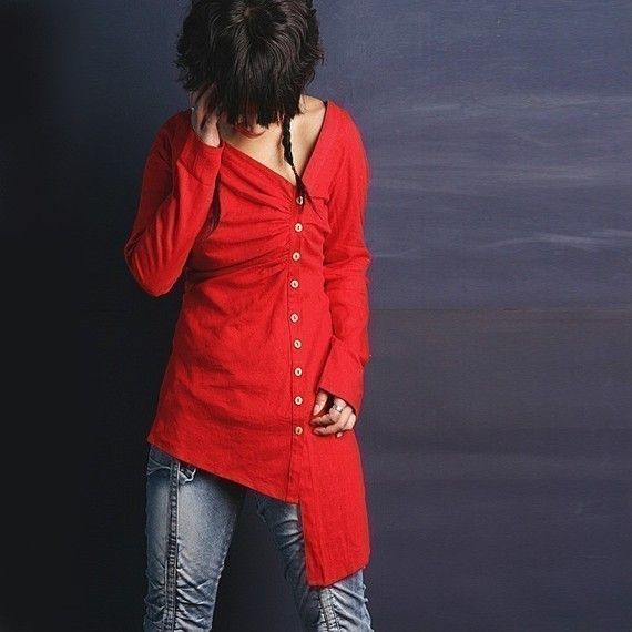Missing You - linen shirt (Y1003)
