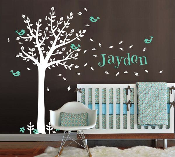 Creative Wall Decor For Nursery : Cute and modern baby nursey wall decals decor the