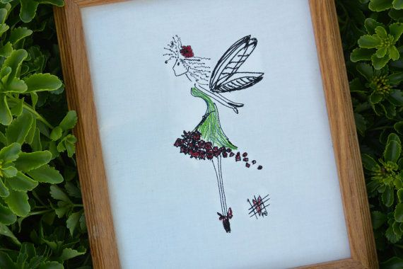 17 Best images about Fabulous Fairies Machine embroidery