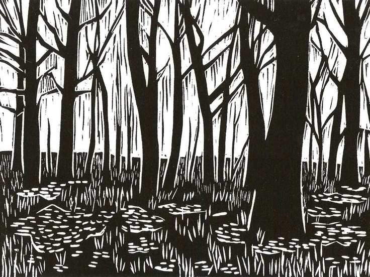 93 best woodcut prints images on Pinterest Printmaking, Art - k chenblock 270 cm