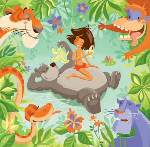The Jungle Book | El libro de la selva | Disney | @dgiiirls