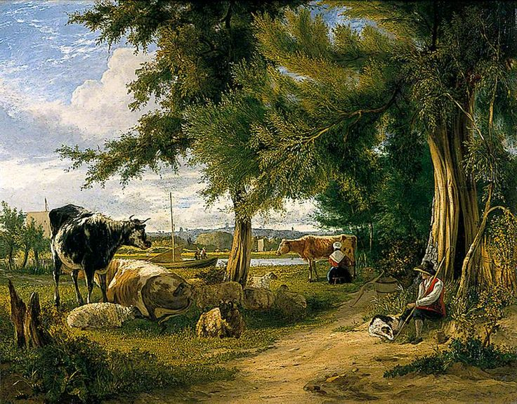 42 Best Pastoral Painting Images On Pinterest Scene Art