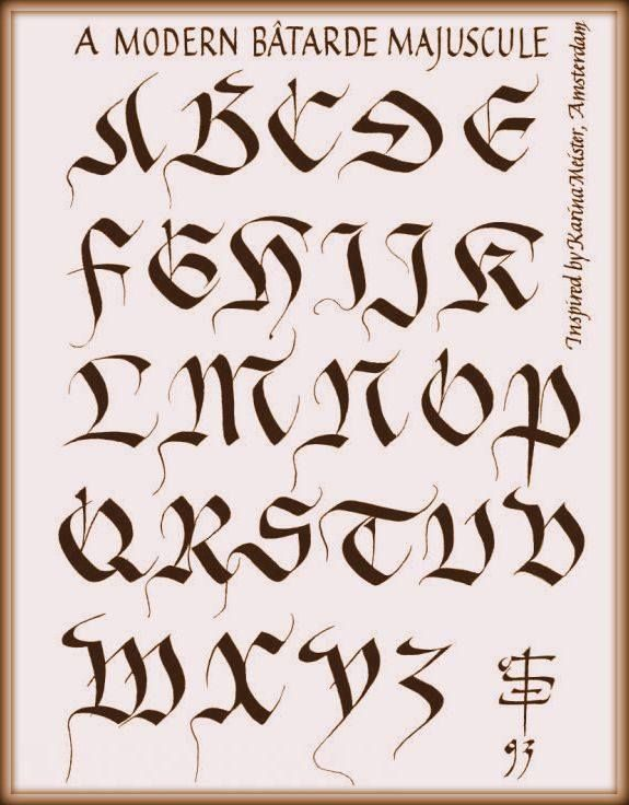 Best calligraphy mastery of the basics images on