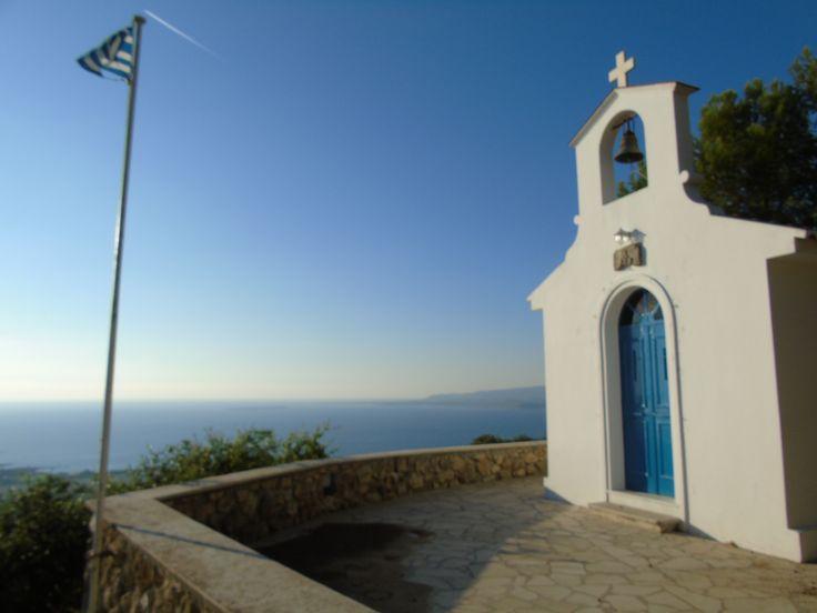 Kefalonian traditional greek chapel. Wedding venue!
