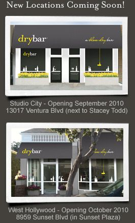Dry bar - blow dry/styling only $35 no haircut - almost wish they had one nearby for a blowdry straight every once in a while