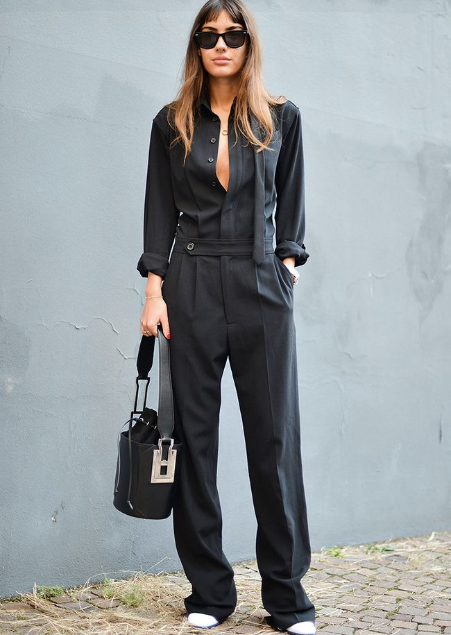 Le parfait look noir et blanc #75 (photo Patricia Manfield)