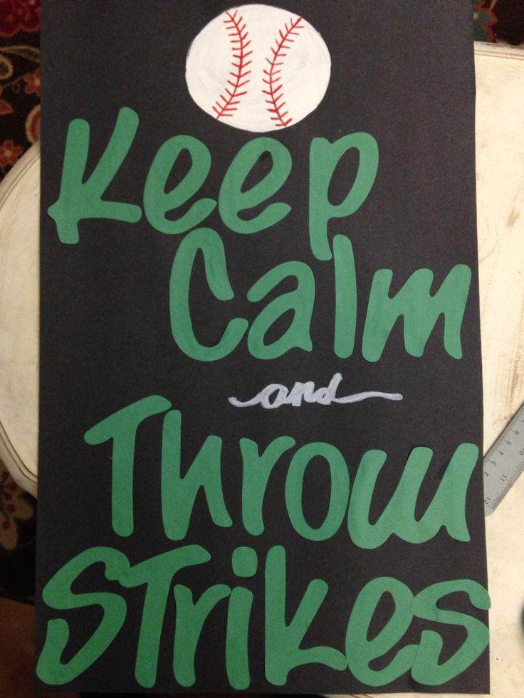 Baseball Poster DIY