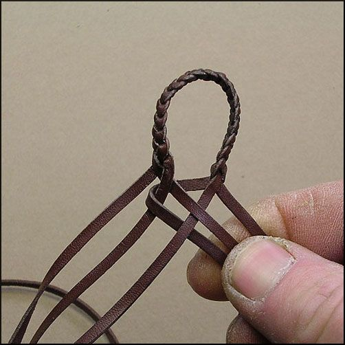 - 6 Strands : Leather Braiding by John