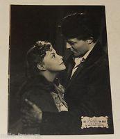 RARE Carte photo Film Les Belles de NUIT René CLAIR 1952 Gérard PHILIPPE + Pub 4