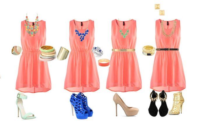 Rachel´s Fashion Room: Tendencia primavera-verano 2014: color coral, cómo combinarlo!