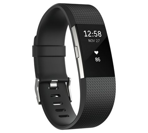 Buy Fitbit Charge 2 HR + Fitness Large Wristband - Black at Argos.co.uk - Your Online Shop for Fitness and activity trackers, Fitness technology, Fitness equipment, Sports and leisure.