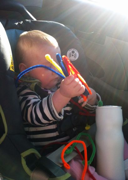 (Alternately titled: How to Not Go Completely Insane on a Twelve Hour Roadtrip with a Baby)   My first piece of advice would be to leave clo...