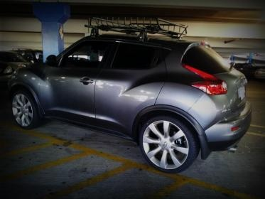 Nissan Juke With 20s From An Infinity FX35