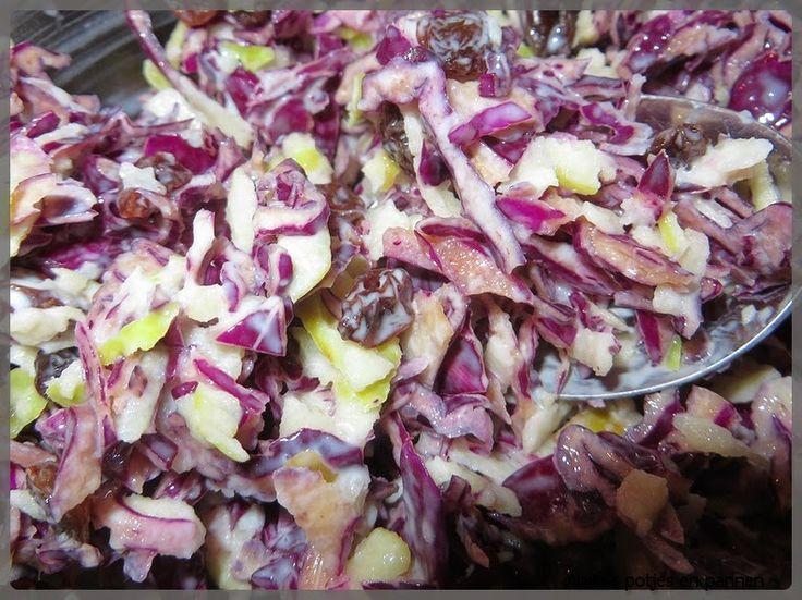 Anita's potjes en pannen: Rode kool salade