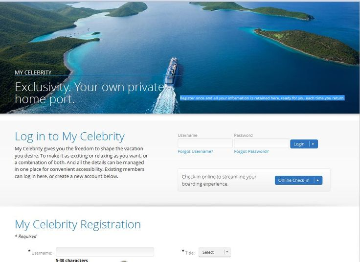 How to Pre-Register for Your Celebrity Cruise