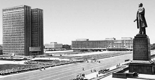 здание Совета Министров Узбекской ССР ...