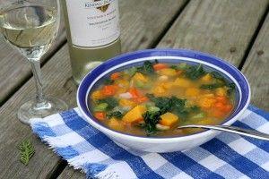 pyszna, pożywną i super zdrową zupa - także dla osób odchudzających się :)