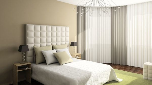 Dormitorio en color arena dormitorios pinterest colores for Colores zen para dormitorio