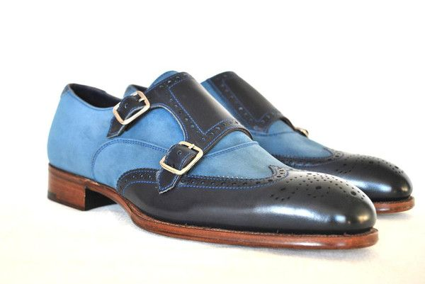 These Blue Two Tone Brogue Monkstraps by Alfred Sargent are like having an Aston Martin as a your personal car instead of a Buick. Divine.