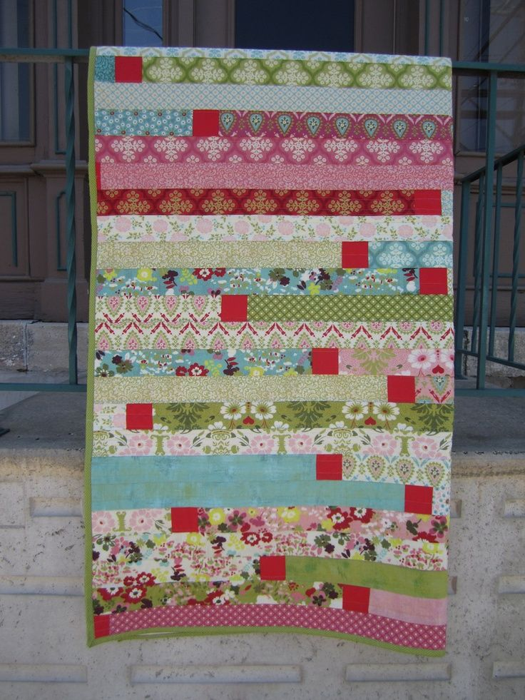 Quilt Patterns Using 6 Strips : Pin by Marlene Helman on